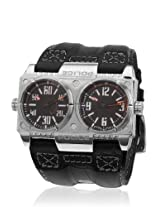 12899Xs/02 Black/Black Analog Watch