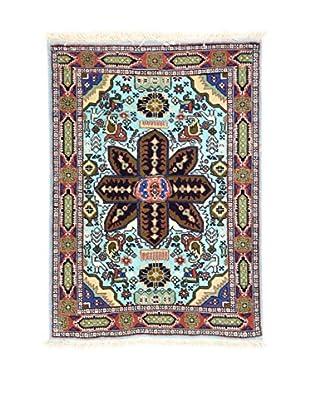 Eden Teppich   Ardebil Fondo Seta 68X95 mehrfarbig