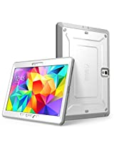 Samsung Galaxy Tab S 10.5 Case, SUPCASE [Heavy Duty] Case for Galaxy Tab S 10.5 Tablet [Unicorn Beetle PRO Series] Full-body Rugged Hybrid Protective Cover with Built-in Screen Protector (White/Gray), Dual Layer Design + Impact Resistant Bumper