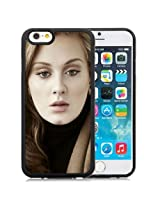 6 case,Unique Design Adele Girl Hair Face Look iPhone 6 4.7 inch TPU case cover