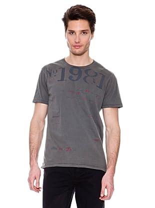 Guess Camiseta 1981 (Gris)
