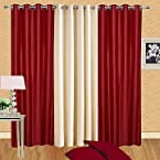 Handloom Daddy Set Of 3 Window Curtain HD647
