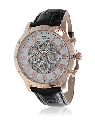 Lindberg & Sons Reloj Constructeur Dorado Rosado 43 mm
