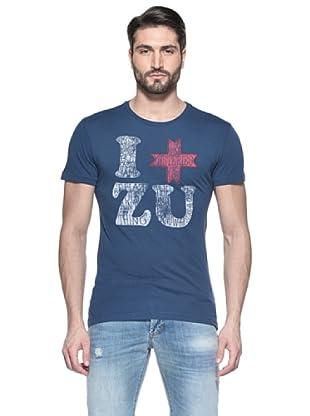 Zu Element Camiseta Earth Nomadism (Azul Oscuro)