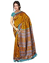 Kothari Printed Saree (KT089MC_Golden)