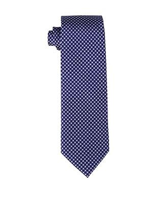 Yves Saint Laurent Men's Circles Tie, Blue