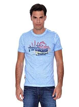 Pepe Jeans London Camiseta Surfer (Azul Claro)