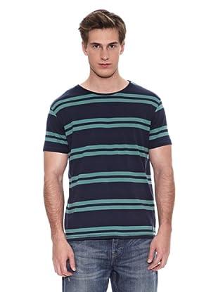 Springfield Camiseta S1 Raya Verde (Marino / Verde)