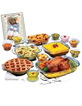Anchor Hocking 2134 34 Piece Expressions Ovenware Set