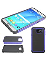 DMG Hybrid Dual Layer Armor Defender Protective Case Cover for Samsung Galaxy Note 5 N920 (Blue)
