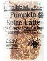 Pumpkin Spice Latte - (No Added Sugar) All Natural GRANOLA BAR from thenibblebox.com (80g x 2 packs)