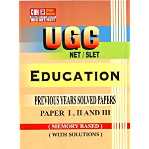 Education Previous Years Solved Papers for UGC-NET-SLET Paper-1-2-3