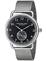 Stuhrling Original Analog Black Dial Men's Watch - 207M.02