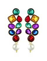 Peora Contemporary Colourful Earrings for Women