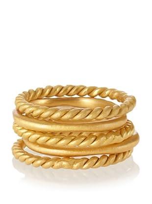 Kevia Twisted Stacking Ring Set