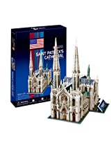 "CubicFun 3D Puzzle C-Series ""Saint Patrick's Cathedral - New York City"""
