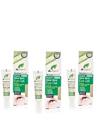 Dr.Organic Set 3 Gel para el Contorno de Ojos Aloe Vera 15Ml (u)