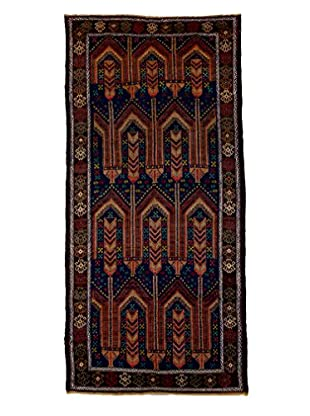 Tribal Collection Oriental Rug, Navy, 3' 8