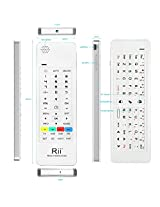 Rii K13 Multifunction Mini Wireless Keyboard With Fly Mouse, IR Learning Remote Control, Speaker and Microphone For PC, Smart TV Android Box Windows 2000 XP Vista 7 8 10