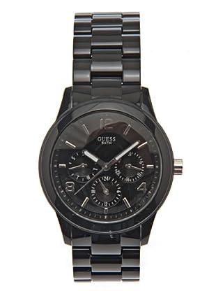 Guess W11603L2 - Reloj de Señora multifunción de policarbonato negro