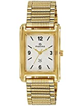 Maxima Analog White Dial Men's Watch - E-02327Cpgy
