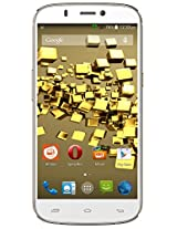 Micromax Canvas Gold A300 (White-Gold)