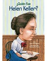 ¿Quien fue Helen Keller? (Who Was...?)