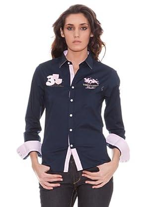 Valecuatro Camisa (Azul Marino)