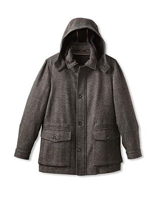 Brioni Men's Hooded Coat (Grey)