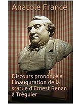 Discours prononcé à l'inauguration de la statue d'Ernest Renan à Tréguier (French Edition)