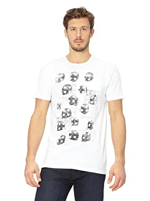 Analog T-Shirt Dotted Lines (White)