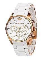Emporio Armani AR5920 White Dial Men's Watch