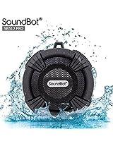 SoundBot® SB512-PRO HD Premium Water & Shock Resistant Bluetooth Wireless Shower Speaker, Hands-Free Portable...
