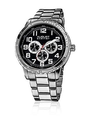 August Steiner Reloj 45 mm AS8060SS (Plateado)
