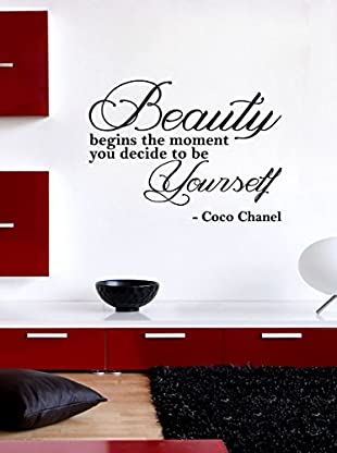 Ambiance Live Wandtattoo Coco Chanel