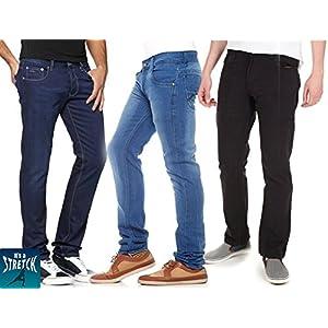 Stylox Combo Of 3 Men Jeans