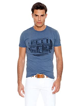 Pepe Jeans London Camiseta Turok (Azul Oscuro)