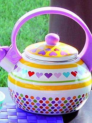 Tognana  Wasserkessel Gourmet Mix&Match 2 Lt lila/mehrfarbig