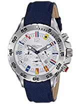 Nautica Sports Analog Silver Dial Men's Watch - NTA24513G