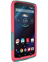 Otterbox Droid Turbo By Motorola Commuter Series Case - Teal Rose