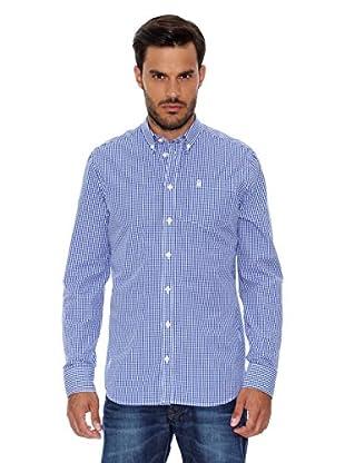 Pepe Jeans London Camisa Hombre Baron (Azul Oscuro)