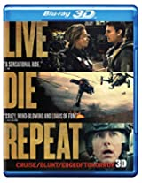 Live Die Repeat: Edge of Tomorrow (Blu-ray 3D + Blu-ray + DVD)