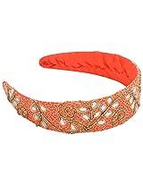 Kysaa Plastic Hair Pins For Girl's (Orange )
