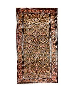 QURAMA Teppich Persian Hamadan lehmbraun/blau