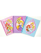Disney Princess Palace Pets Spiral Notebooks Set Of 3 Wide Ruled 1 Subjet Notebook 50 Sheets Each
