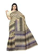 Triveni Cotton Traditional Saree (Tsmrccan1023 _Beige)