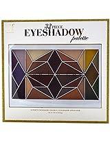 e.l.f. 32 Piece Vol 1 Geo Eyeshadow Palette, 0.99 Ounce