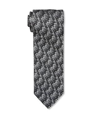 Missoni Men's Lightning Zigzag Tie, Black