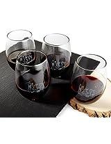 Mercantile 12 Toast Stemless Wine Glasses, Set of 4
