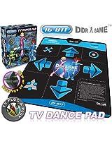 16-Bit Graphics TV Plug-N-Play Single-Player Dance Pad with AC Adapter
